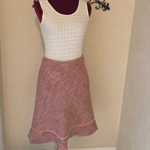 Old Navy Pink Wool Skirt NWOT